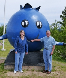 My Parents with the Blueberry