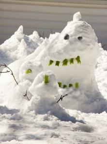 Snow Serpent Attacks