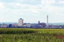 Downtown Moncton from Dieppe